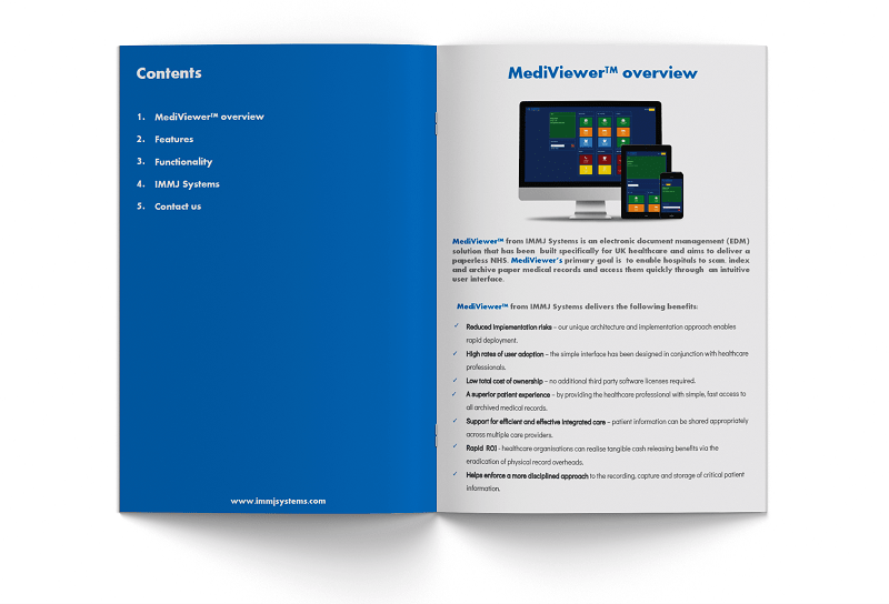 IMMJ Systems brochure showcase inside 800-min