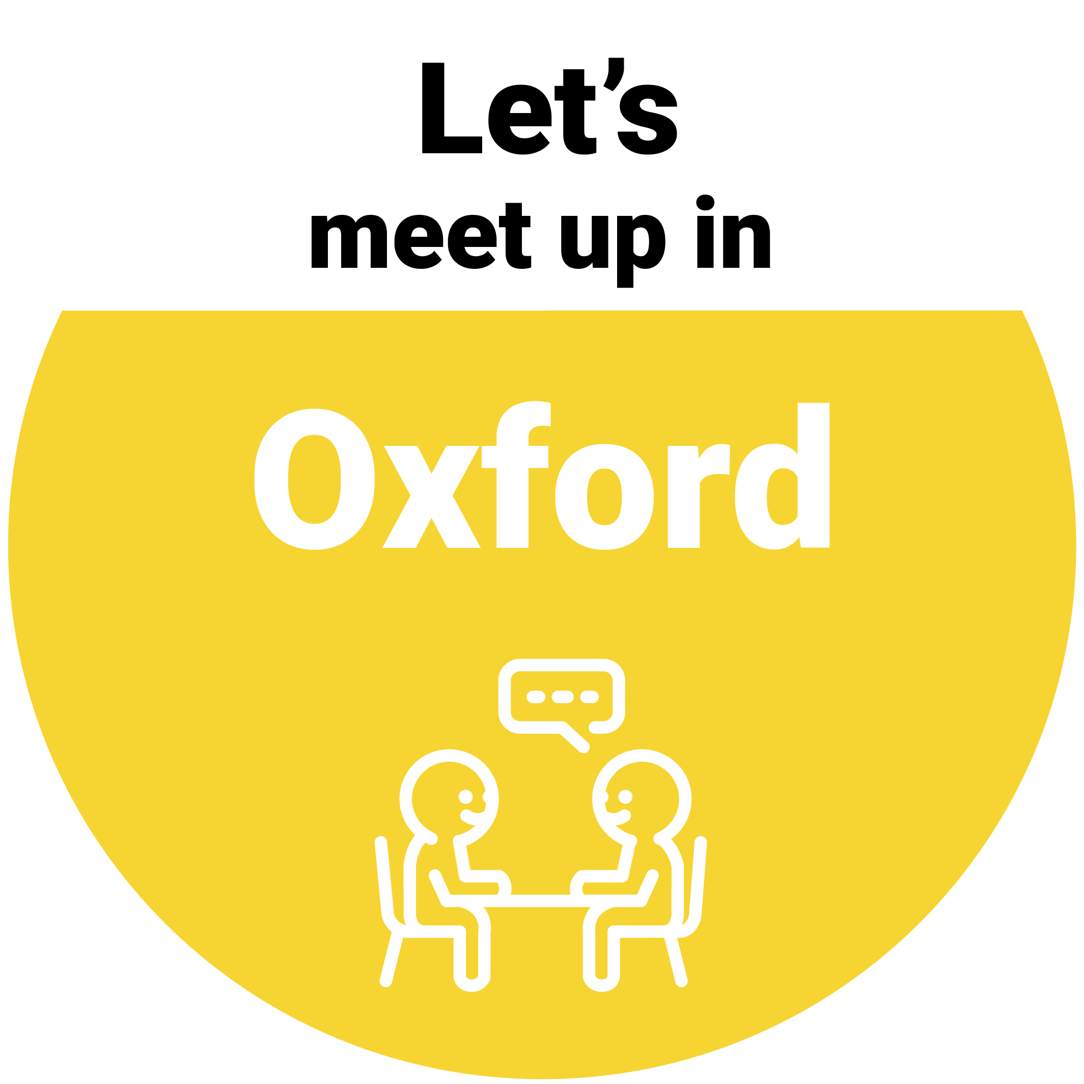 Lets meet in Oxford