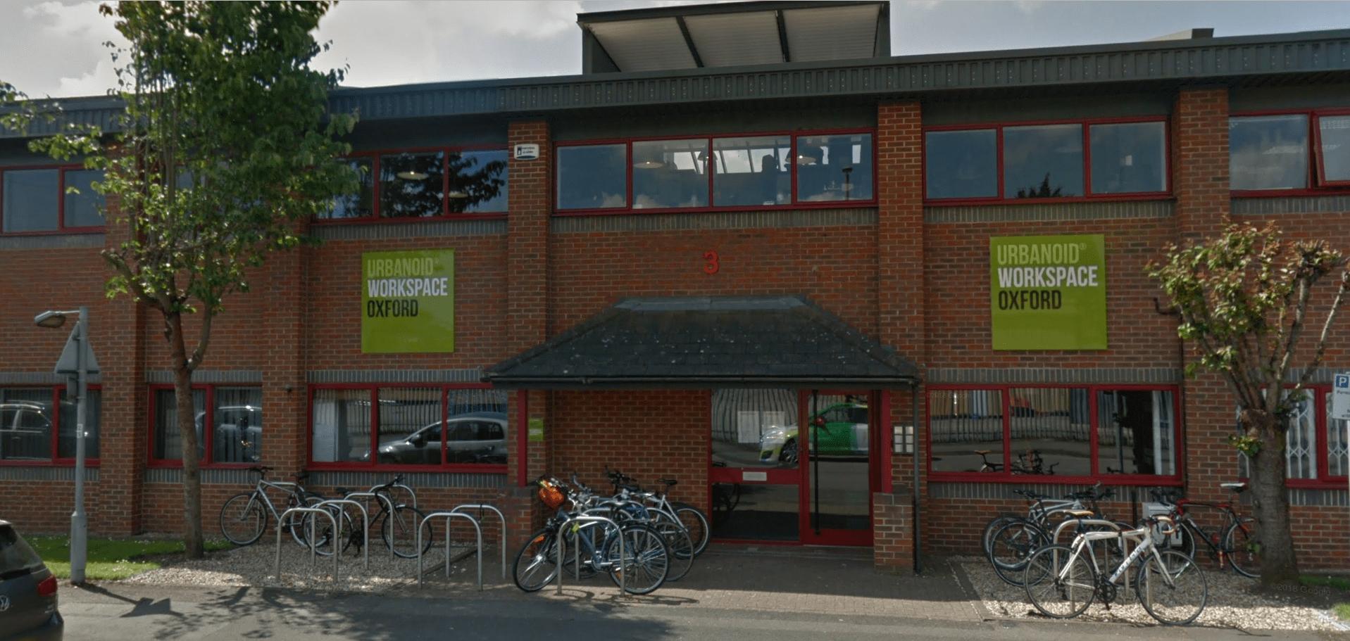 Urbanoid workspace in Oxford